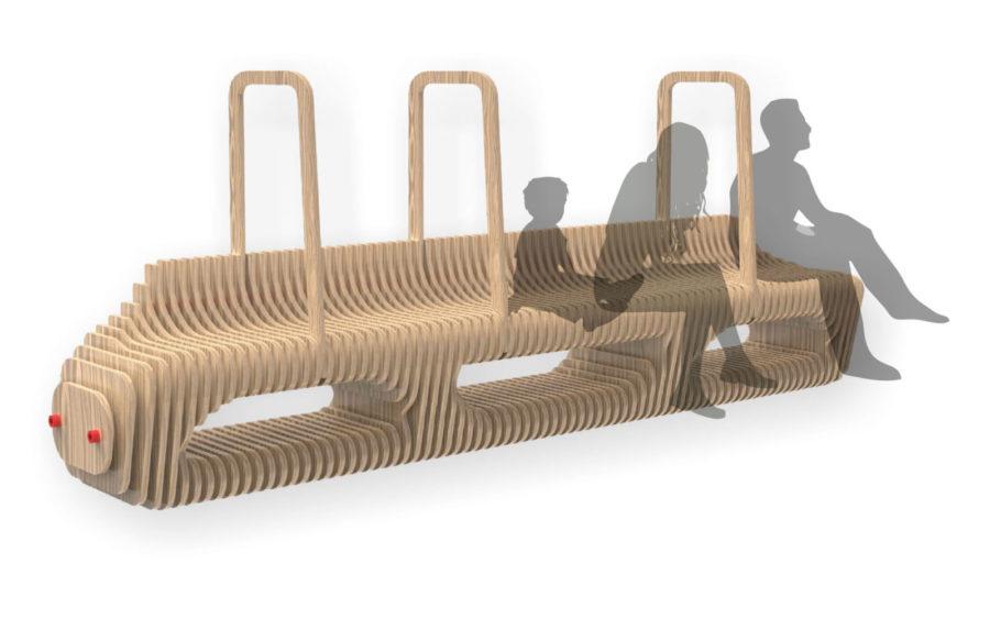 ZAmetric Bench by Darren Myburgh