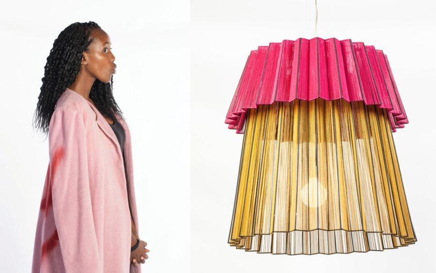 Thabisa Mjo and her Tutu 2.0 light.